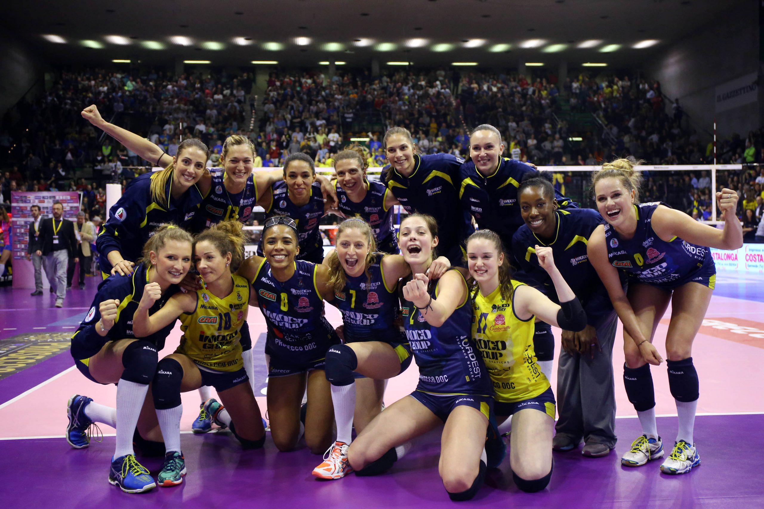 Squadra italiana serie A volley - conegliano