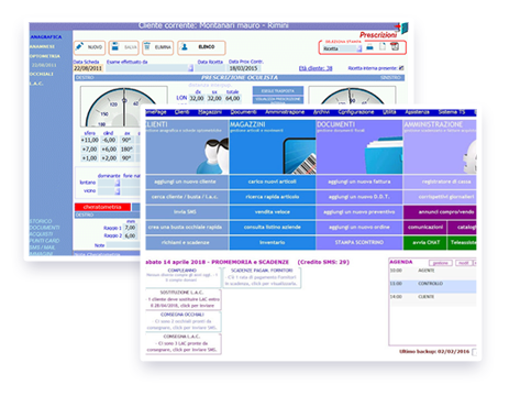 Schermate IrideSoftware®